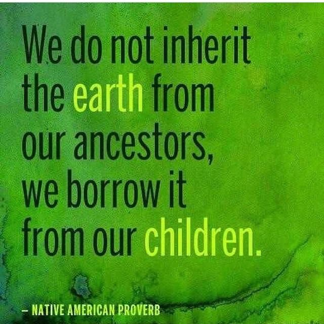 420 earth day-proverb
